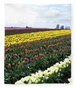 Tulip Town 11 Fleece Blanket