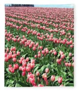 Tulip Town 14 Fleece Blanket