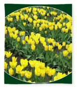 Tulip Town 2 Fleece Blanket