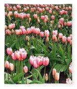 Tulip Town 8 Fleece Blanket