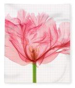 Tulip, X-ray Fleece Blanket