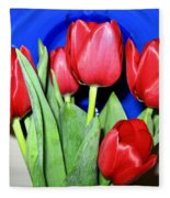 Tulipfest 1 Fleece Blanket