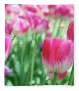 Tulips 2 Fleece Blanket