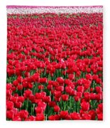 Tulips By The Million Fleece Blanket