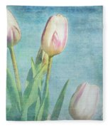 Tulips Day Fleece Blanket