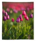 Tulips Dream Fleece Blanket