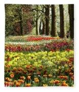 Tulips Everywhere 1 Fleece Blanket