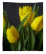 Tulips In The Kitchen Fleece Blanket