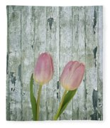 Tulips Two Fleece Blanket