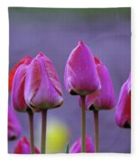 Tullips  Fleece Blanket