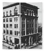 Tulsa, Oklahoma Panorama 1909 Fleece Blanket
