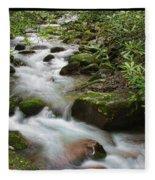 Tumbling Water Fleece Blanket