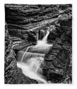 Tumbling Waters #2 Fleece Blanket