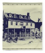 Tun Tavern - Birthplace Of The Marine Corps Fleece Blanket