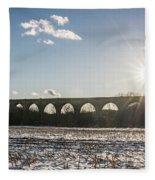 Tunkhannock Viaduct Fleece Blanket