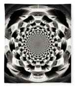 Tunnel Illusion Fleece Blanket