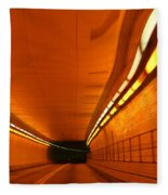 Tunnel Fleece Blanket