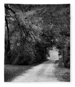 Tunnel Of Lydia Fleece Blanket