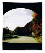 Tunnel Vision Fleece Blanket