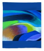 Turbulence Fleece Blanket