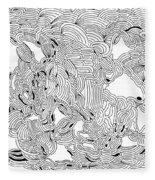 Turbulence Fleece Blanket