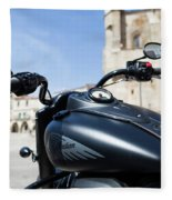 Turgalium Motorcycle Club 01 Fleece Blanket
