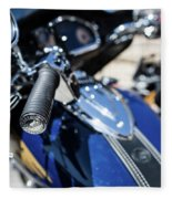 Turgalium Motorcycle Club 02 Fleece Blanket