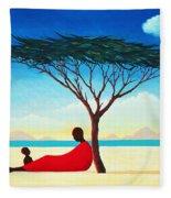 Turkana Afternoon Fleece Blanket