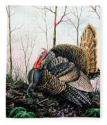 In Strut - Turkey Fleece Blanket