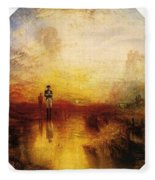 Turner Joseph Mallord William The Exile And The Snail Joseph Mallord William Turner Fleece Blanket