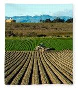 Turning The Soil Fleece Blanket