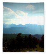 Turquoise Mountain X Fleece Blanket