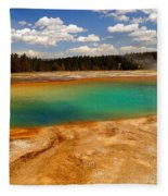 Turquoise Pool  Fleece Blanket