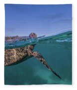 Turtle Breath Fleece Blanket
