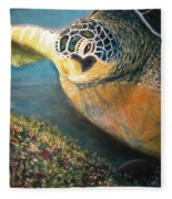 Turtle Run Fleece Blanket