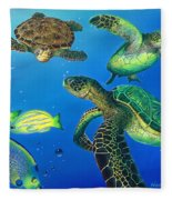 Turtle Towne Fleece Blanket