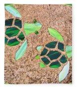 Turtles Fleece Blanket