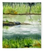 Turtles Fleece Blanket