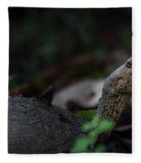 Turtle's Neck 1 Fleece Blanket