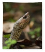 Turtle's Neck  Fleece Blanket
