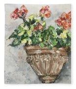Tuscan Floral Fleece Blanket
