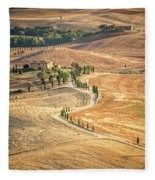 Tuscan View Fleece Blanket