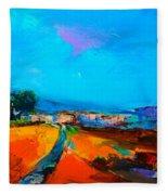 Tuscan Village Fleece Blanket