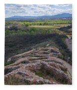 Tuzigoot National Monument Fleece Blanket