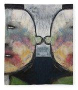 Tweedledee And Tweedledum Fleece Blanket