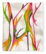 Twigs Fleece Blanket