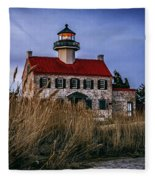 Twilight At East Point Fleece Blanket