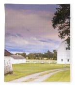 Twilight Barn - Winneconnie Fleece Blanket
