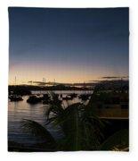 Twilight Cruz Bay Fleece Blanket