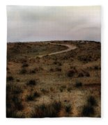 Twilight Grasslands Fleece Blanket